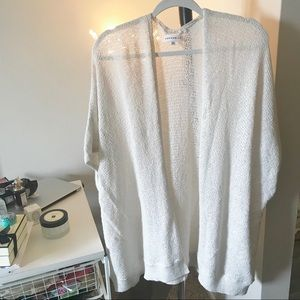 Aritzia poncho knit cardigan